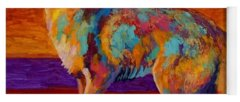Wildlife Paintings Yoga Mats