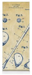 Vintage Golf Yoga Mats