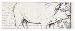 Pig Paintings Yoga Mats