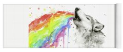 Designs Similar to Wolf And Rainbow
