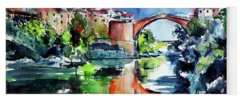 Mostar Paintings Yoga Mats