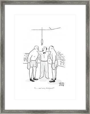 . . . And Now Framed Print