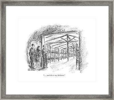 . . . And This Is My Bedroom Framed Print