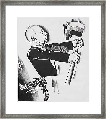 .          Forward  Russia Framed Print by Ivan Koretnikov