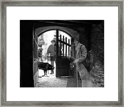 .  . Shadows .  . Framed Print