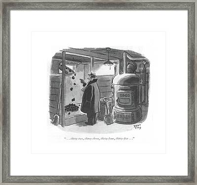 . . . Thirty-two Framed Print