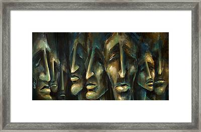' Jury Of Eight ' Framed Print by Michael Lang
