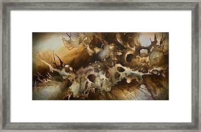 ' Visions' Framed Print by Michael Lang