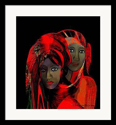 Ibo Framed Prints