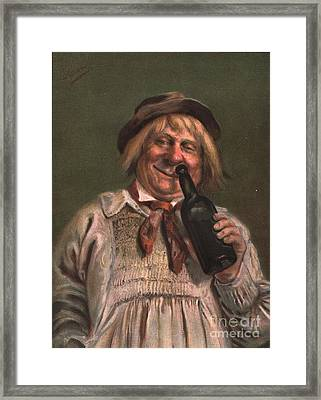 1890s Uk Expressions Smell Drunks Framed Print by The Advertising Archives