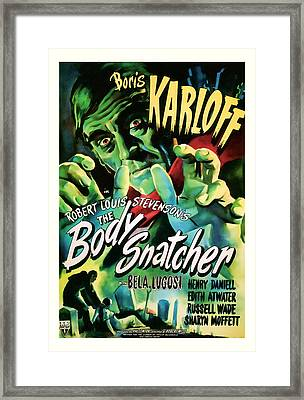 1945 The Body Snatchers Vintage Movie Art Framed Print by Presented By American Classic Art