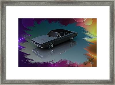 1969 Dodge Charger Framed Print
