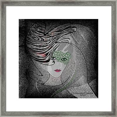 351 -   Anna   Framed Print by Irmgard Schoendorf Welch