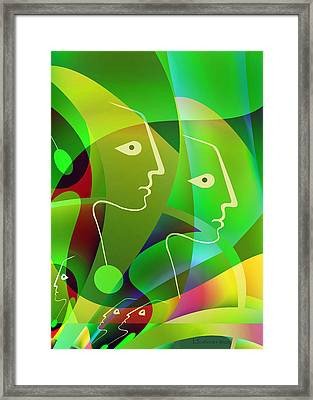 644 - Deep Summer Feeling ... Framed Print