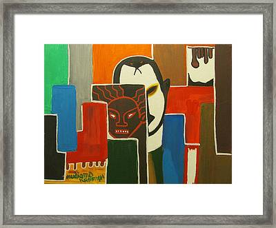 Arriva London North Ltd. - Ruined My Life  Framed Print by Mudiama Kammoh