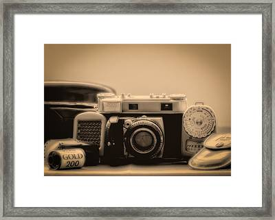 A Kodak Moment Framed Print