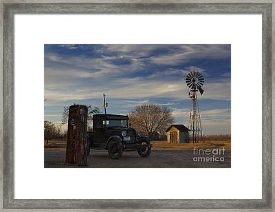 A Lost Era Framed Print by Keith Kapple