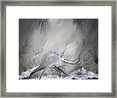 A Peaceful Christmas Morning Framed Print