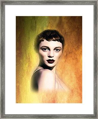 A Portrait Of Isabella Framed Print