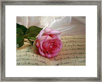 A Tribute To Diana Ross The Rose Framed Print by Inspired Nature Photography Fine Art Photography