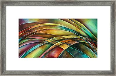 ' Abstract ' L1 Framed Print by Michael Lang