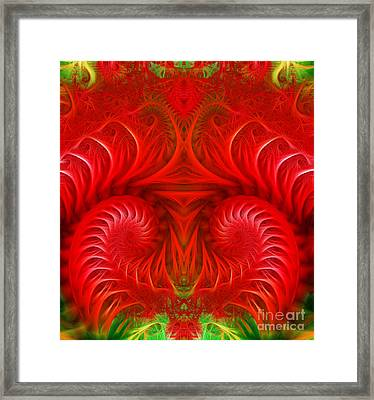 Abstract Background  Framed Print by Odon Czintos