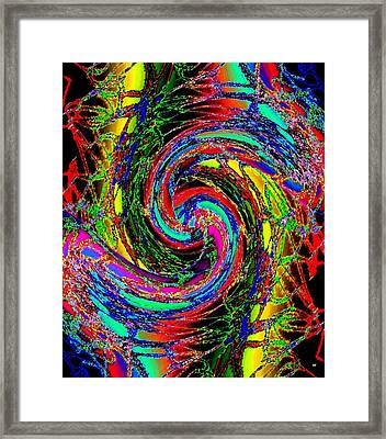 Abstract Fusion 215 Framed Print by Will Borden
