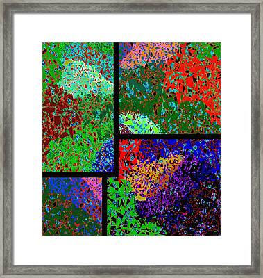 Abstract Fusion 86 Framed Print by Will Borden