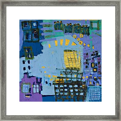 Abstract Framed Print by Maggis Art