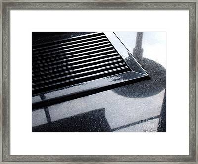 Framed Print featuring the photograph  Abstract Reflection by Lyric Lucas