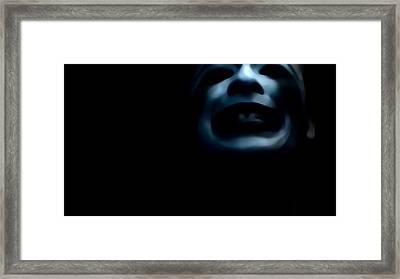 Agony I Wait Framed Print by Jessica Shelton