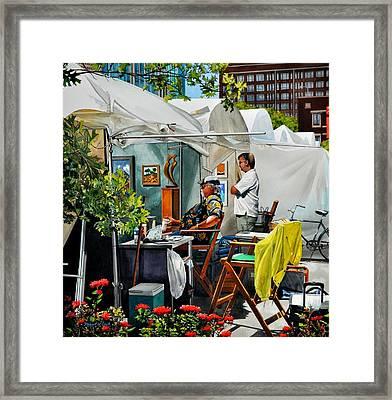 Air Fair Framed Print