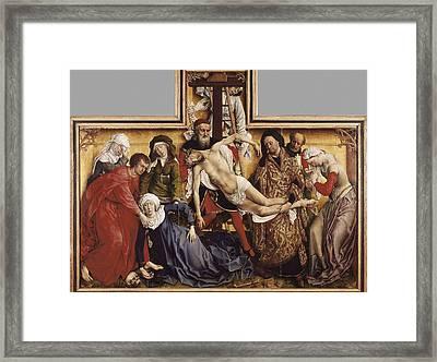 � Aisaeverett Collection Weyden, Rogier Framed Print by Everett