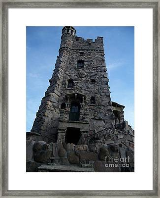 Framed Print featuring the photograph  Alster Tower by Marilyn Zalatan