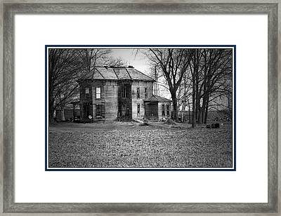 An Old Homestead Framed Print