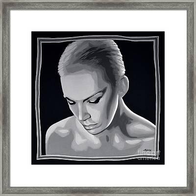 Annie Lennox Framed Print by Meijering Manupix