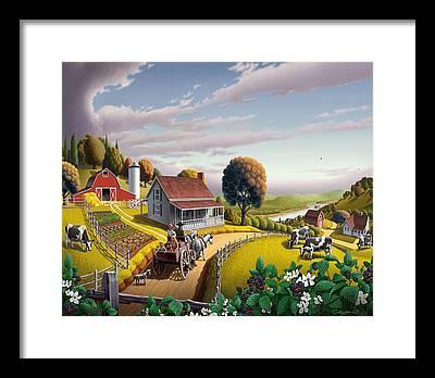 West Virginia Framed Prints