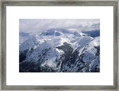 Argentina. Andes Mountains Framed Print by Anonymous