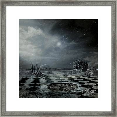 Arrived Framed Print