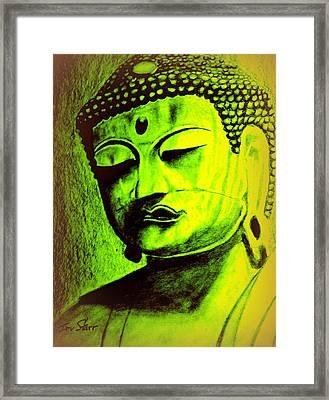 Asian Buddha Framed Print by Irving Starr