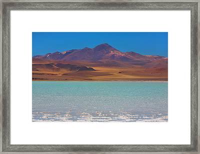 Atacama Salt Lake Framed Print
