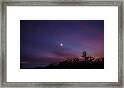 Aureole Of Venus  Framed Print by Sean King