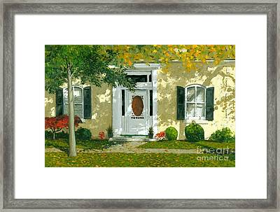 Autumn Sunlight Framed Print by Michael Swanson