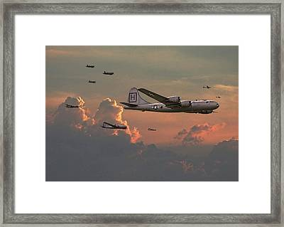 B29 - Korea Framed Print by Pat Speirs
