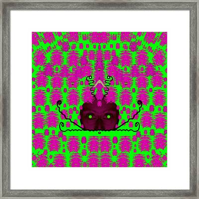 Baby Snakes In The Bushes Framed Print by Pepita Selles