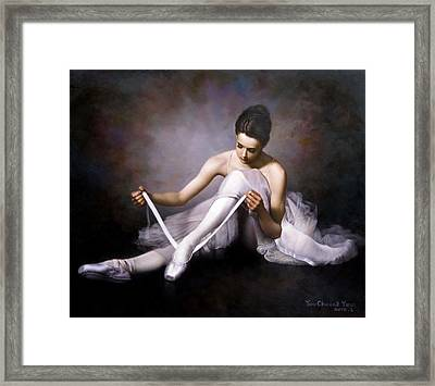 Ballerina 3 Framed Print
