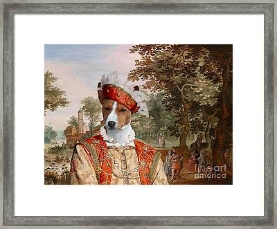 Basenji Art Canvas Print Framed Print