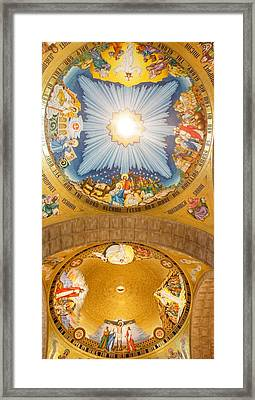 Basilica Of The National Shrine Framed Print by Art Spectrum