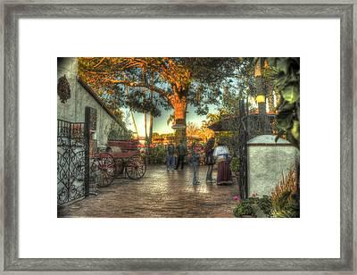 Bazar Del Mundo Framed Print