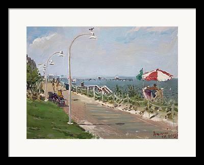 virginia beach framed prints